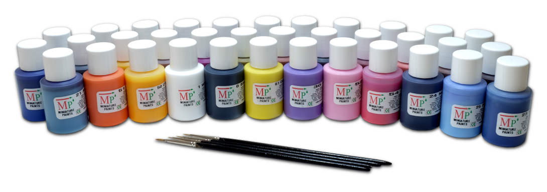 Miniature Paints set