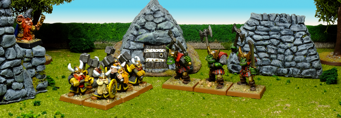 Hammerers versus Dark Orcs